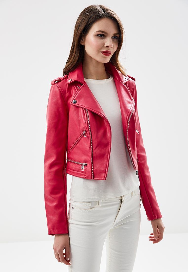 Кожаная куртка Guess Jeans w81l68 w9kp0