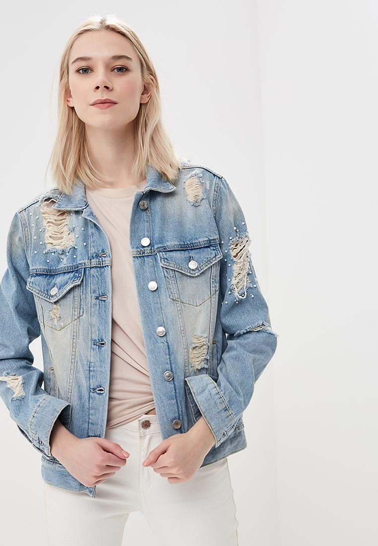 Джинсовая куртка Guess Jeans w81n02 d2zq1