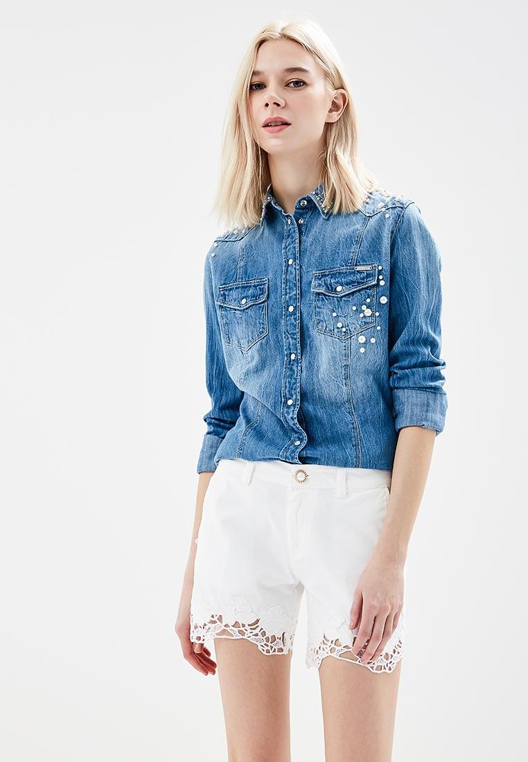 Женские джинсовые рубашки Guess Jeans w81h11 d14l0