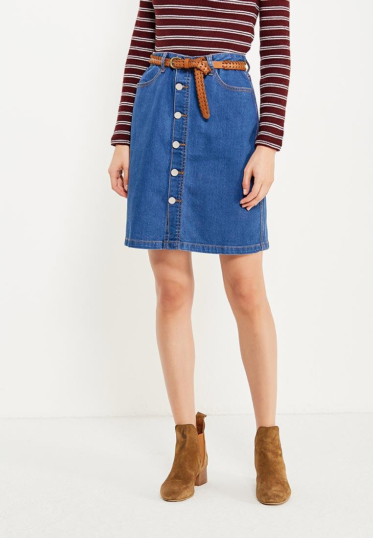Прямая юбка H:Connect YE81T10