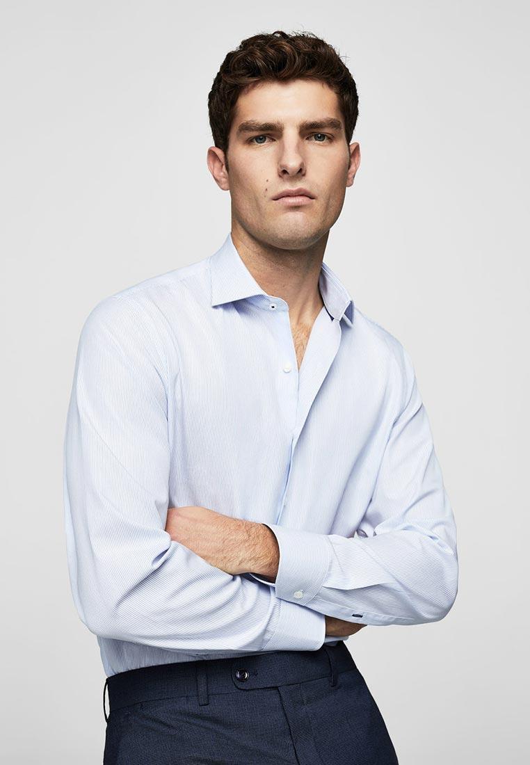 Рубашка с длинным рукавом Mango Man 23000333