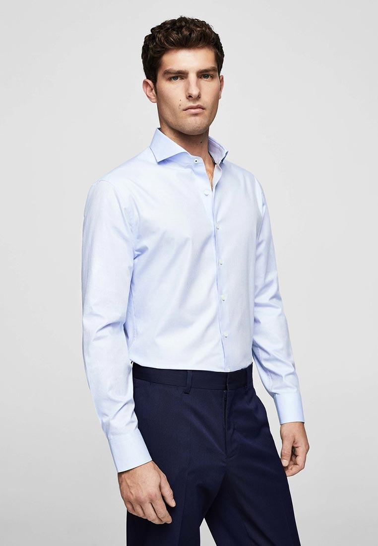 Рубашка с длинным рукавом Mango Man 23000338