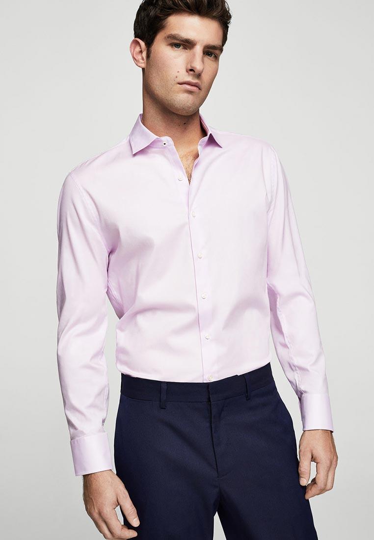 Рубашка с длинным рукавом Mango Man 23000331