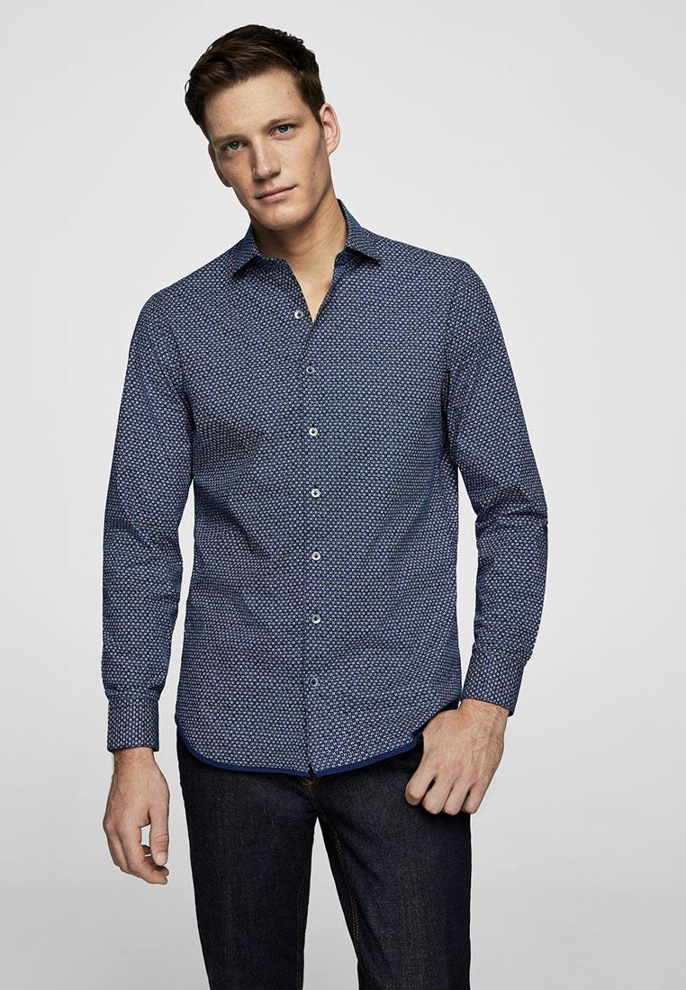 Рубашка с длинным рукавом Mango Man 23010564