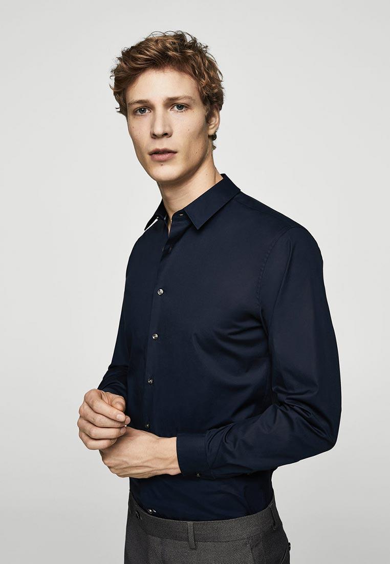 Рубашка с длинным рукавом Mango Man 23010536