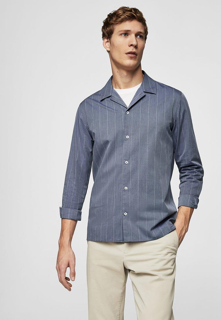 Рубашка с длинным рукавом Mango Man 23040489