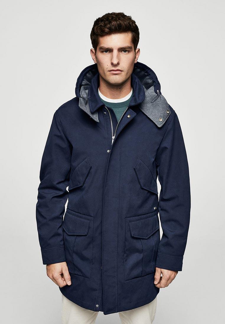 Утепленная куртка Mango Man 23040333