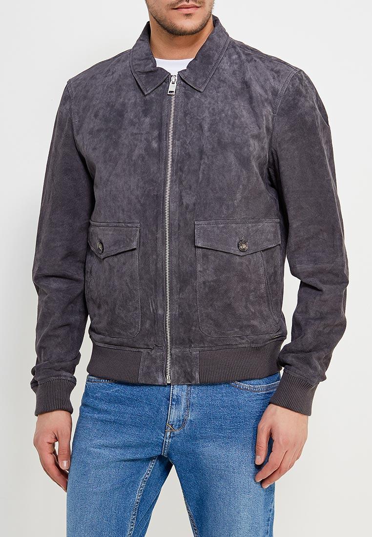 Кожаная куртка Mango Man 23030379