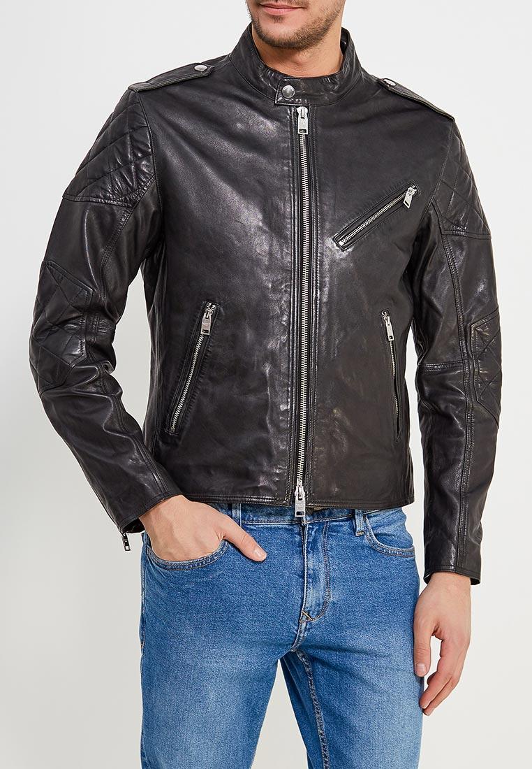Кожаная куртка Mango Man 23070377