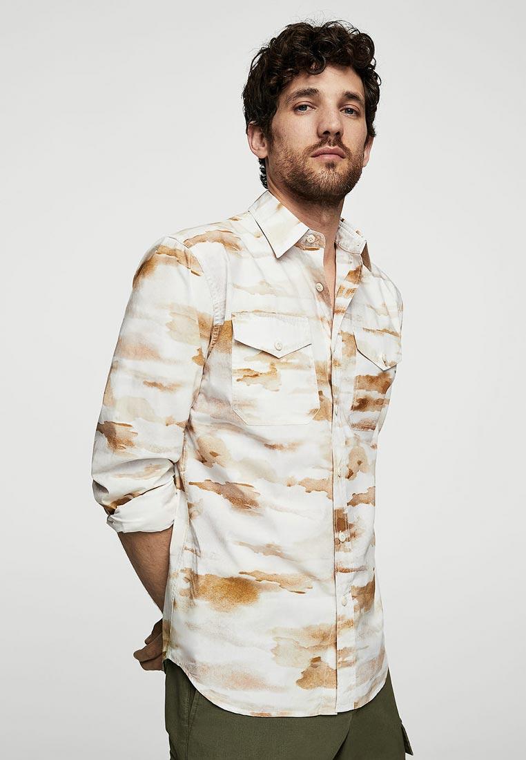 Рубашка с длинным рукавом Mango Man 23027639