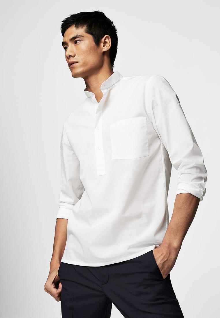 Рубашка с длинным рукавом Mango Man 23043669