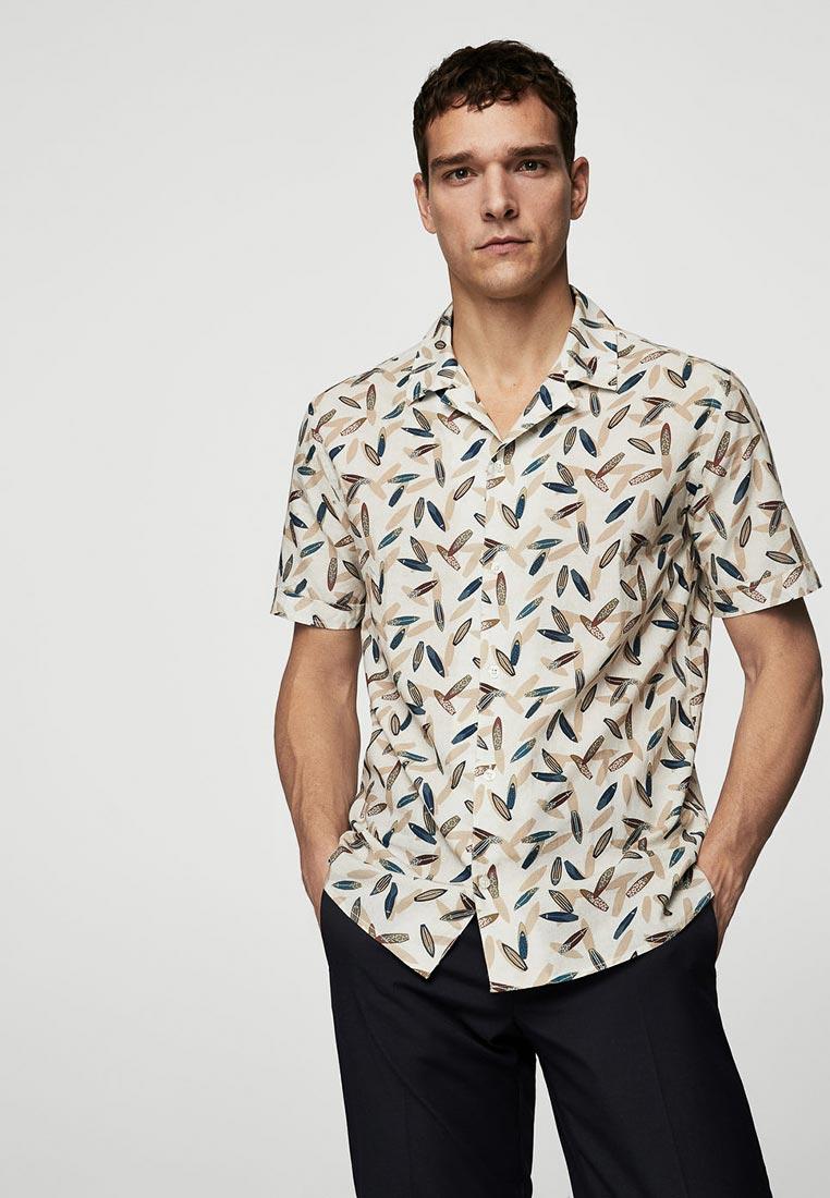 Рубашка с коротким рукавом Mango Man 23057027