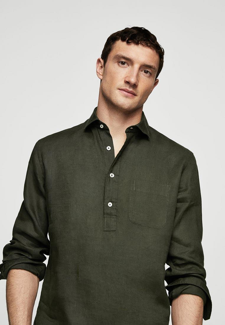 Рубашка с длинным рукавом Mango Man 23058814