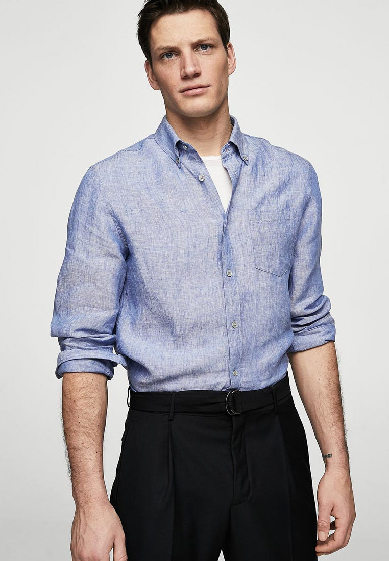 Рубашка с длинным рукавом Mango Man 23015658
