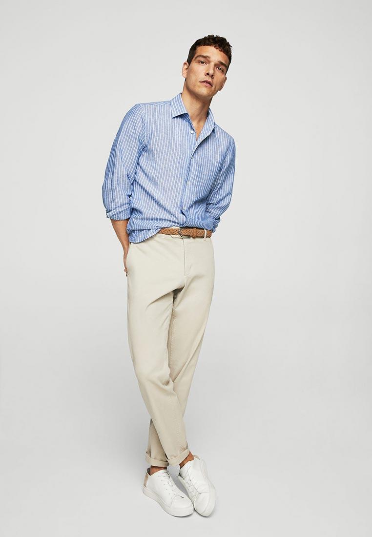 Рубашка с длинным рукавом Mango Man 23035657