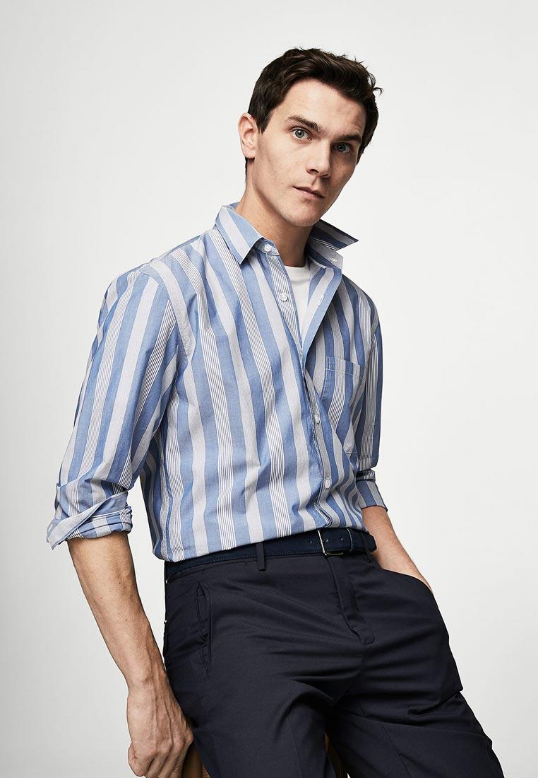 Рубашка с длинным рукавом Mango Man 23053648
