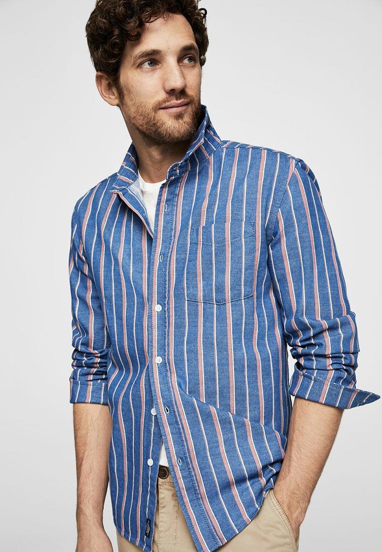 Рубашка с длинным рукавом Mango Man 23025654
