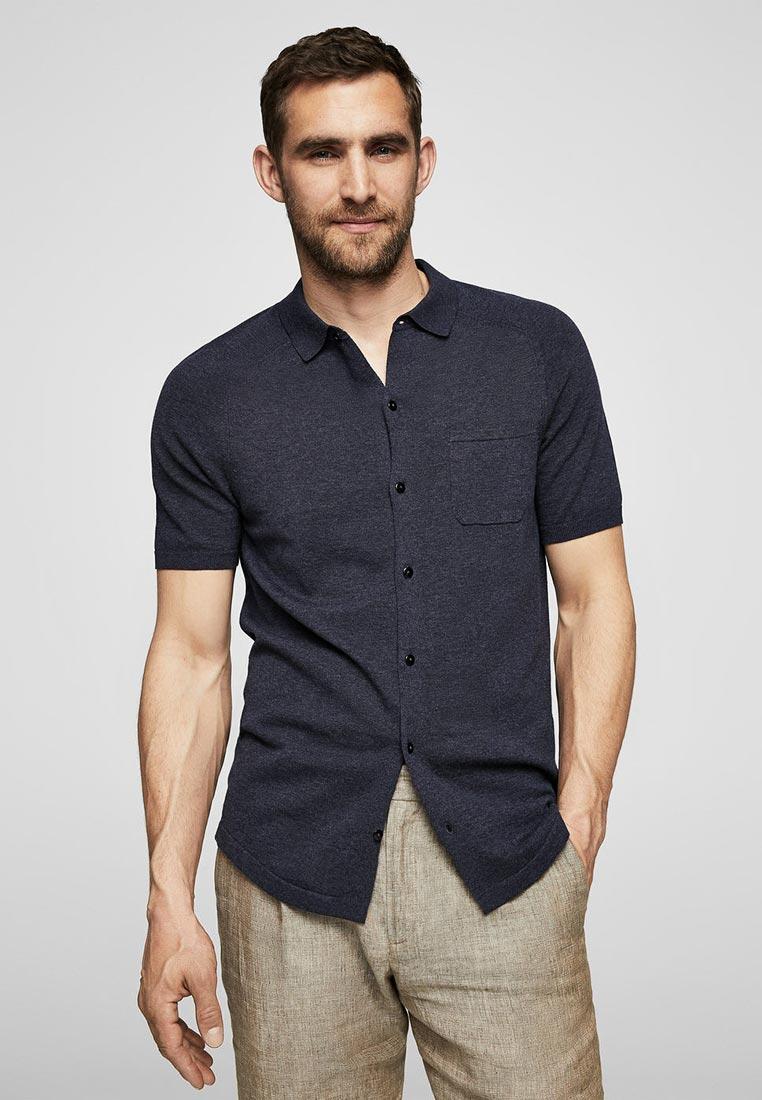 Рубашка с коротким рукавом Mango Man 23087639
