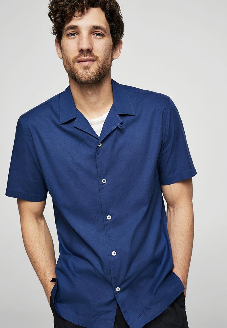Рубашка с коротким рукавом Mango Man 23057016