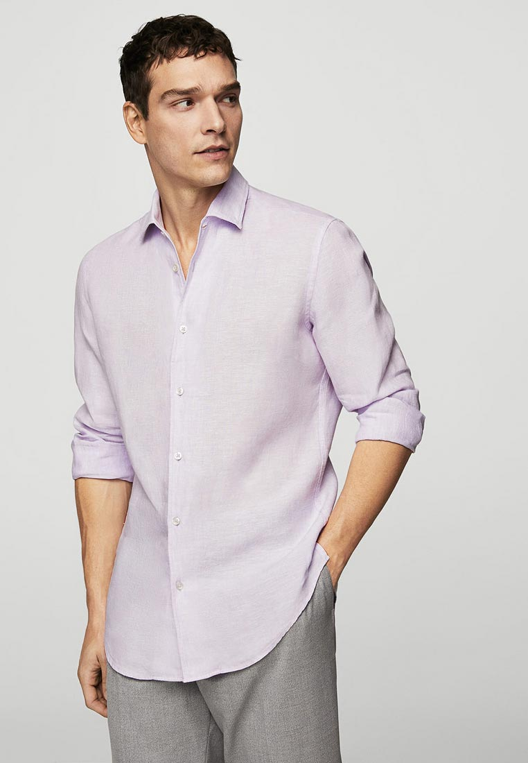 Рубашка с длинным рукавом Mango Man 23097678