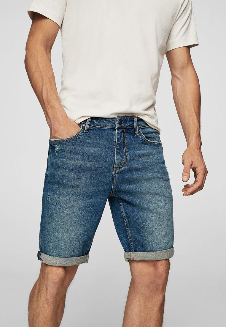 Мужские джинсовые шорты Mango Man 23015655