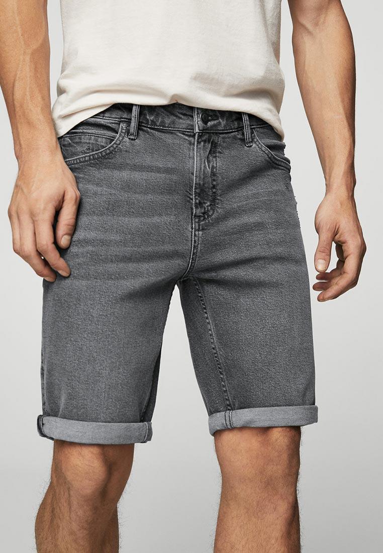 Мужские джинсовые шорты Mango Man 23045654