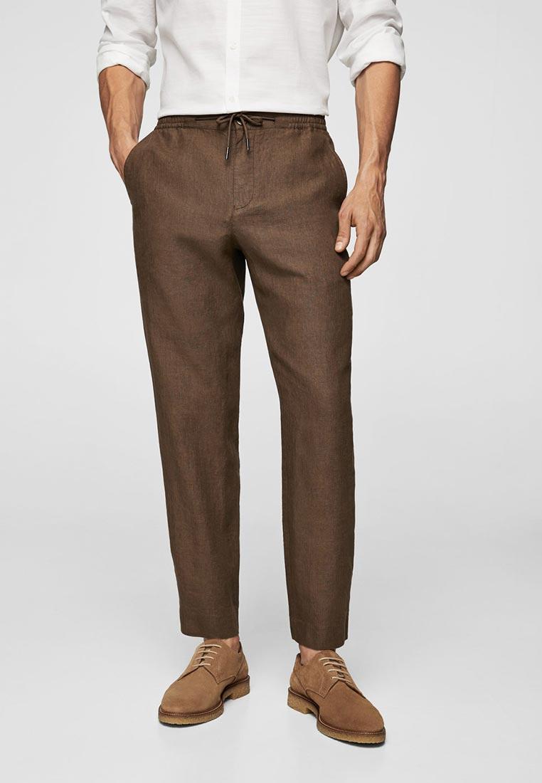 Мужские зауженные брюки Mango Man 23027656