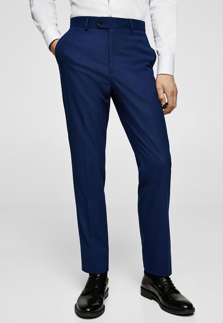 Мужские зауженные брюки Mango Man 23025644
