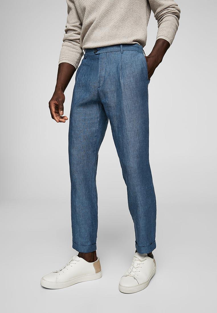 Мужские зауженные брюки Mango Man 23027655