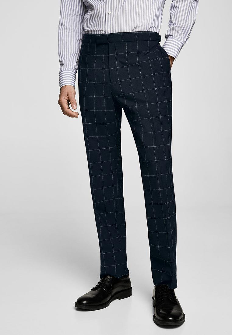 Мужские зауженные брюки Mango Man 23035641