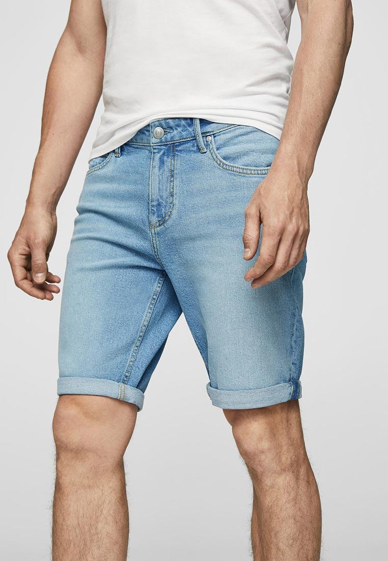 Мужские джинсовые шорты Mango Man 23037638