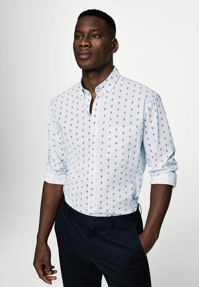 Рубашка с длинным рукавом Mango Man 23027701