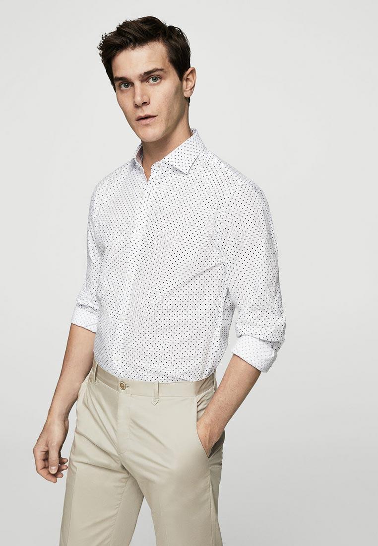 Рубашка с длинным рукавом Mango Man 23029044