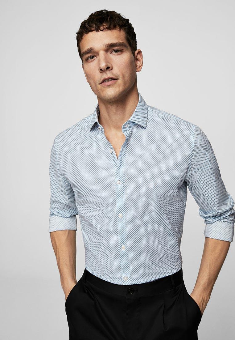 Рубашка с длинным рукавом Mango Man 23019045