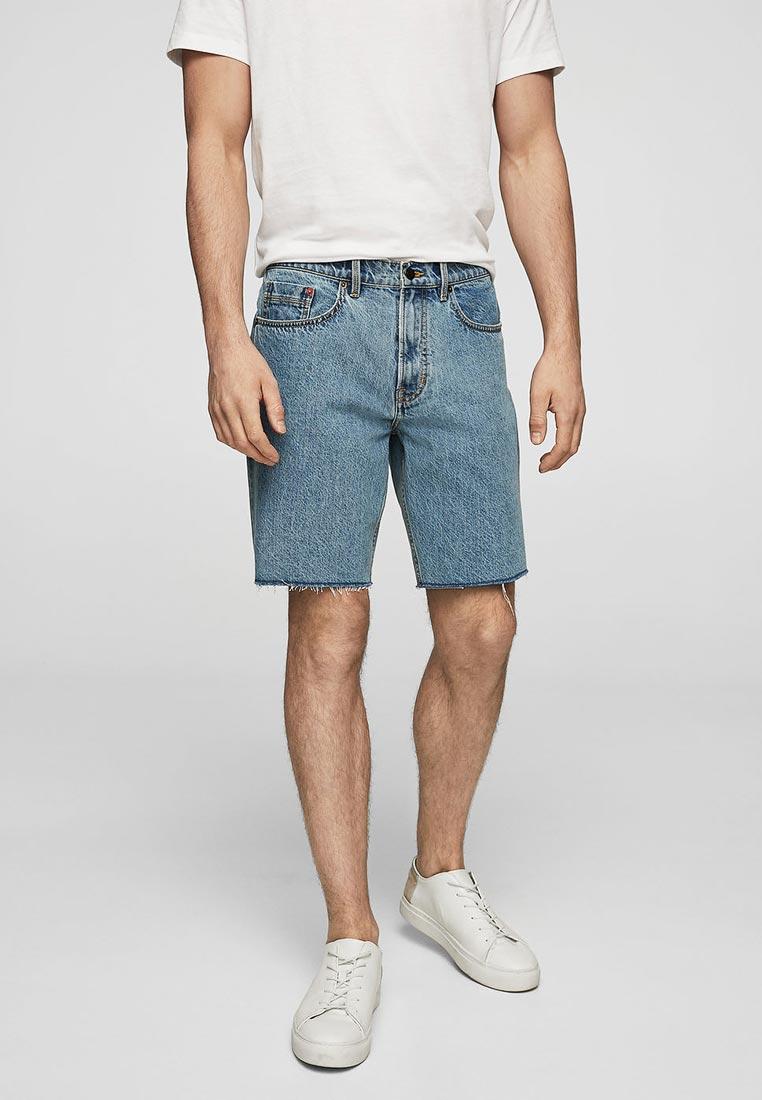Мужские джинсовые шорты Mango Man 23077694