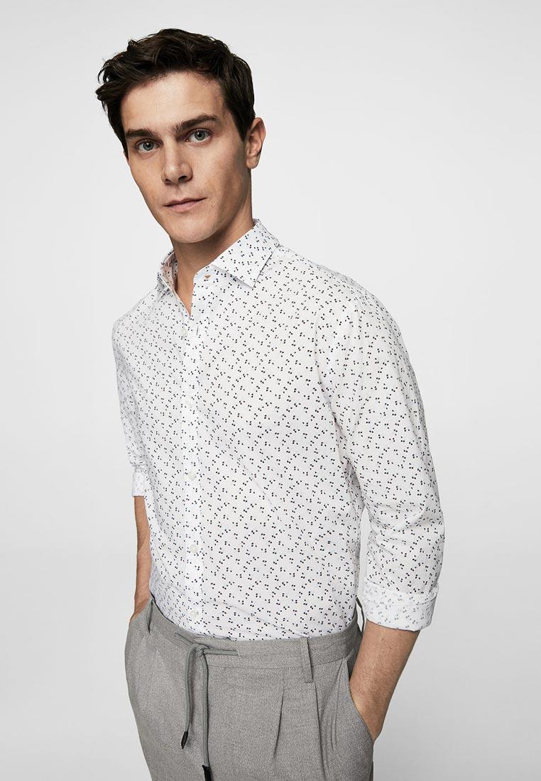 Рубашка с длинным рукавом Mango Man 23079042