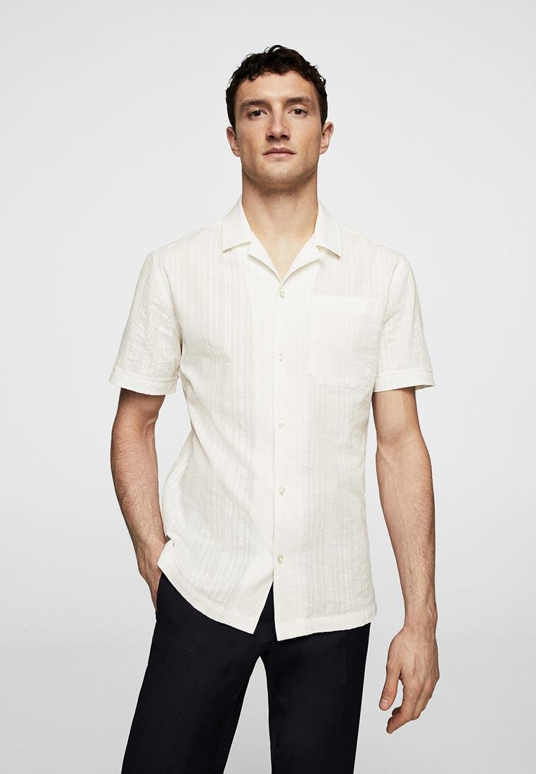 Рубашка с коротким рукавом Mango Man 33090522
