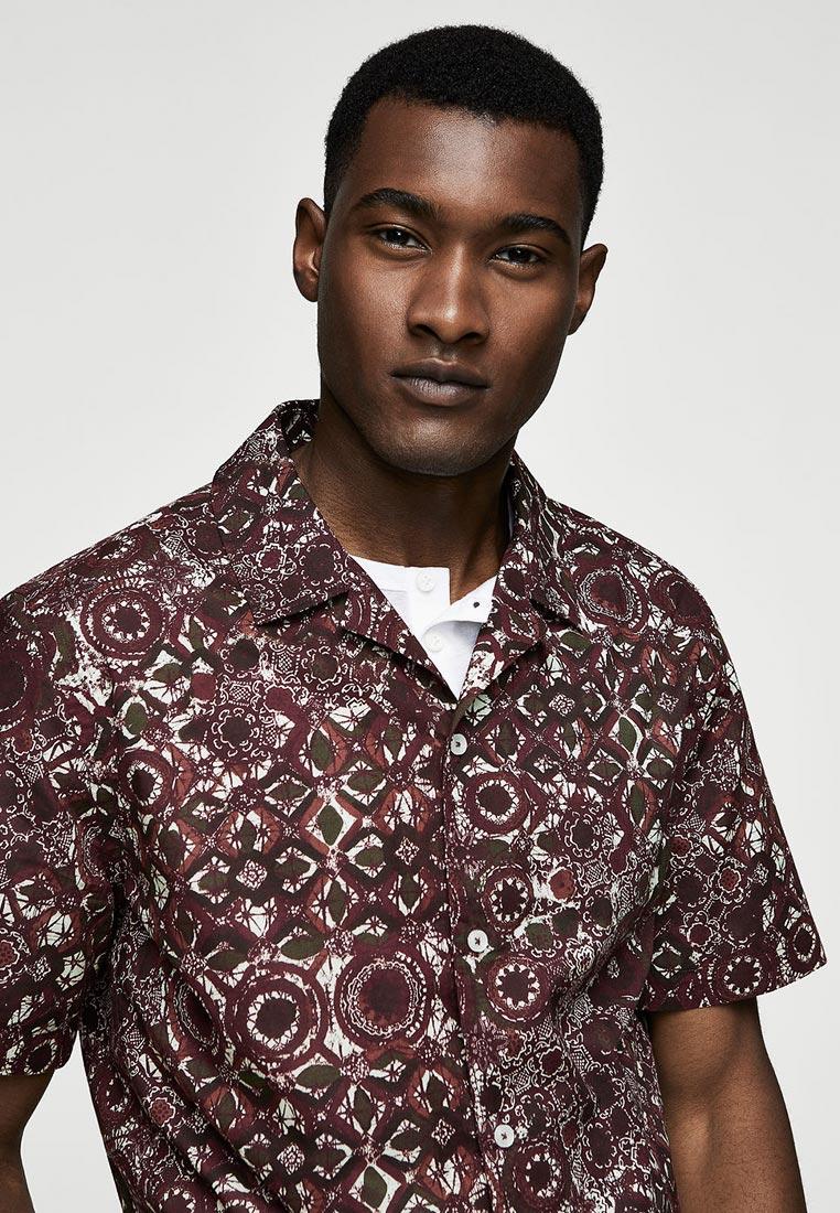Рубашка с коротким рукавом Mango Man 33080501