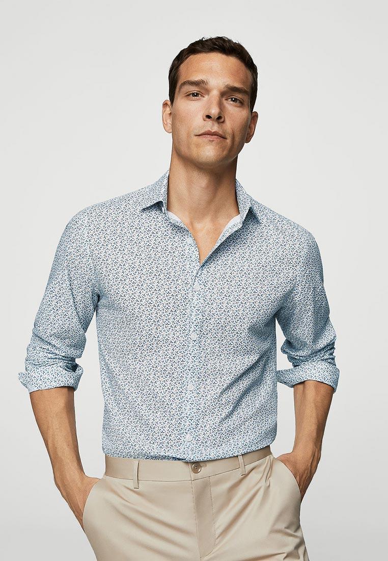 Рубашка с длинным рукавом Mango Man 33010726