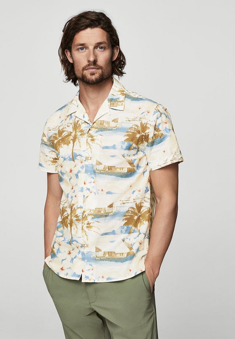 Рубашка с коротким рукавом Mango Man 31060760
