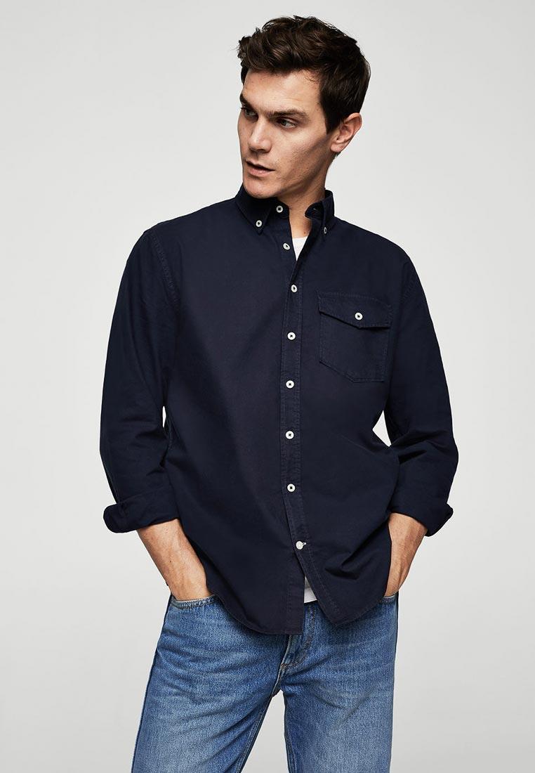 Рубашка с длинным рукавом Mango Man 23040382