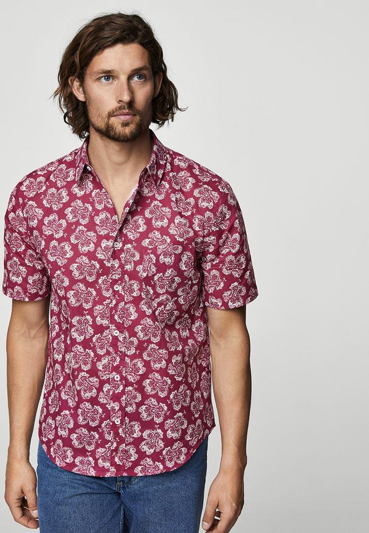 Рубашка с коротким рукавом Mango Man 31070848