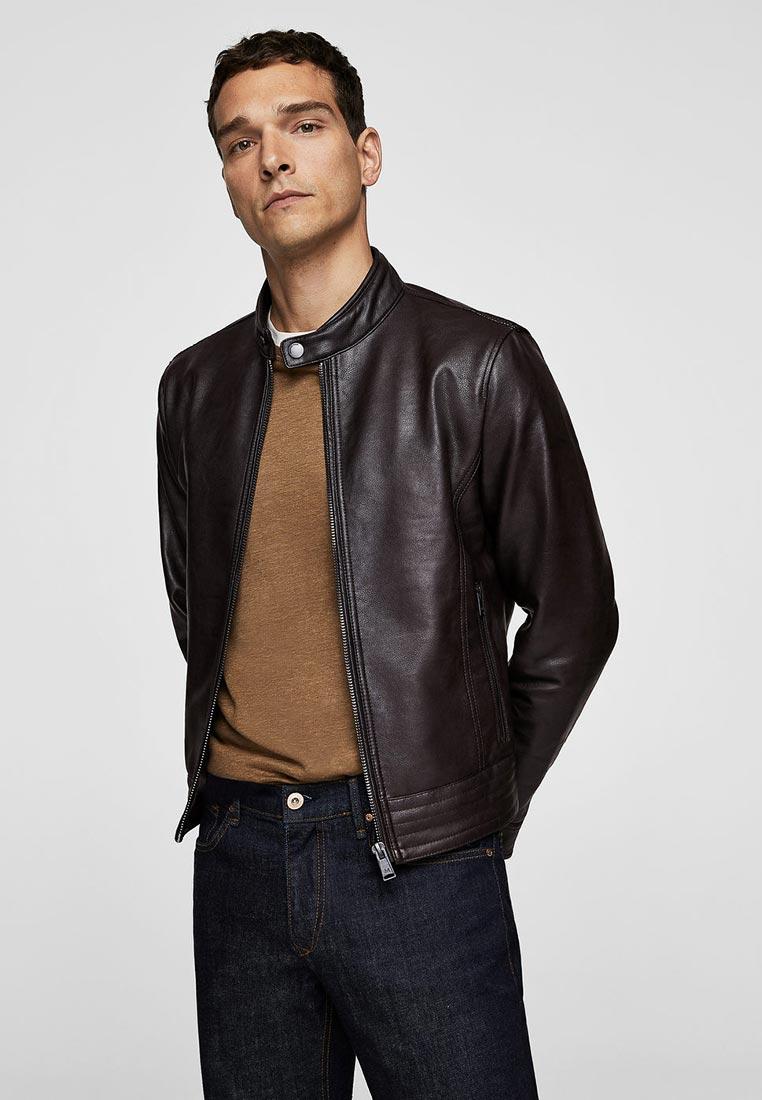 Кожаная куртка Mango Man 33020482