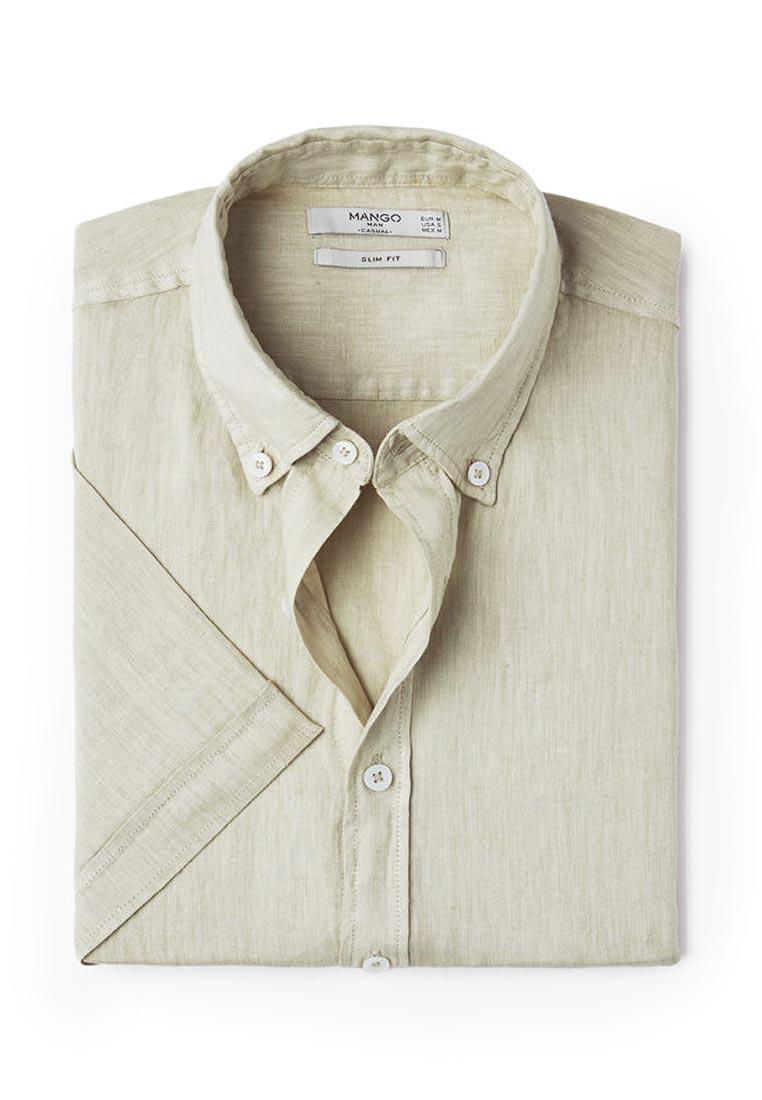 Рубашка с коротким рукавом Mango Man 84027504