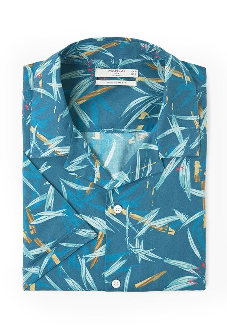 Рубашка с коротким рукавом Mango Man 13040300