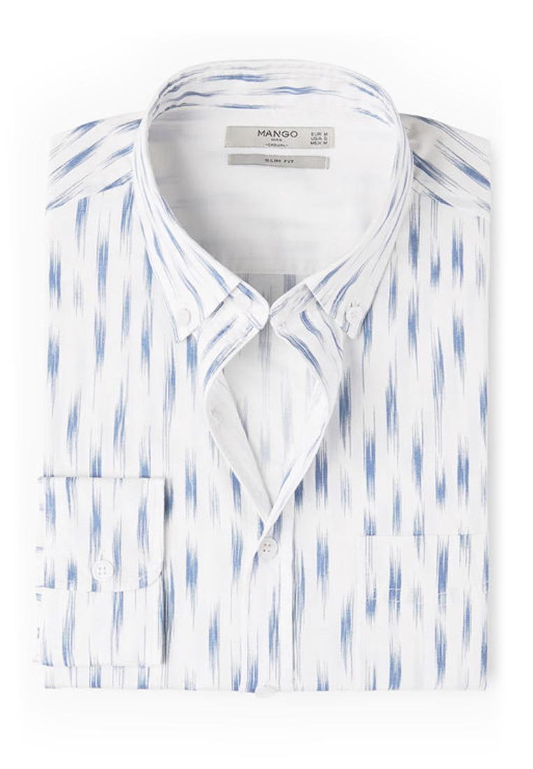 Рубашка с длинным рукавом Mango Man 14060265