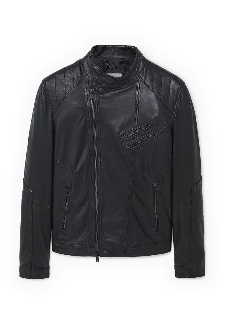Кожаная куртка Mango Man 13040394