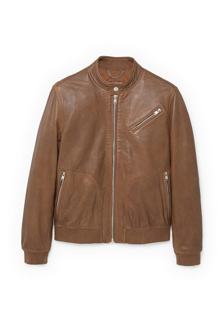 Кожаная куртка Mango Man 13050393