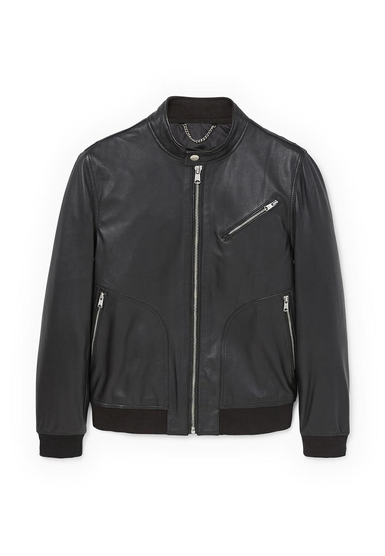 Кожаная куртка Mango Man 13080403