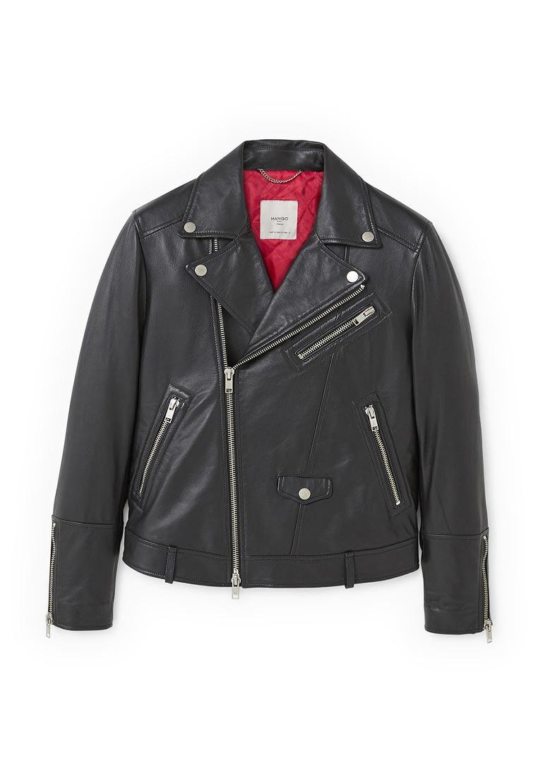 Кожаная куртка Mango Man 13065645